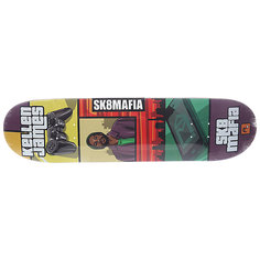 Дека для скейтборда для скейтборда Sk8mafia James Gamer 32 Multi 32 x 8.0 (20.3 см)