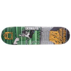 Дека для скейтборда для скейтборда Sk8mafia Turner Sk8rats Green 32.12 x 8.19 (20.8 см)