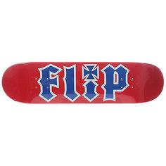 Дека для скейтборда для скейтборда Flip Team Red 31.5 x 8.0 (20.3 см)