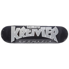 Дека для скейтборда для скейтборда Sk8mafia Kremer Soty! Black 32.12 x 8.25 (21 см)
