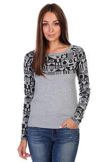 Джемпер женский Zoo York Flash Dance Sweater Med Heather Grey