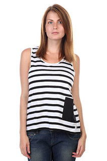 Майка женская CLWR Whif Tank Top Black Stripe