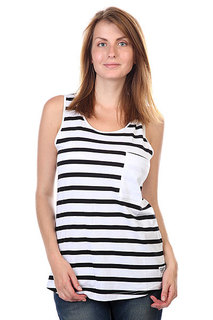 Майка женская CLWR Wp Tank Top Black Stripe