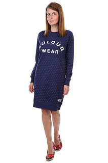 Платье женское CLWR Crew Dress Florida Patriot Dot