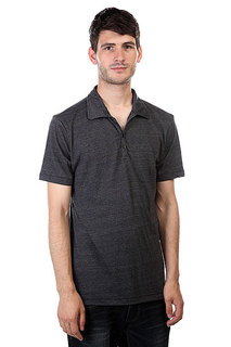 Поло Osiris Crosby Polo Shirt Black