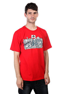 Футболка Osiris Tees Faces Red