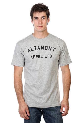 Футболка Altamont Nongame S/S Tee Grey/Black