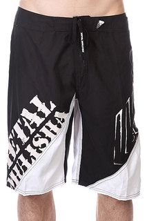 Шорты пляжные Metal Mulisha Lift Black/White
