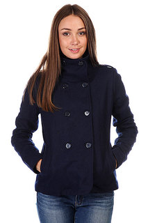 Пальто женское Zoo York Portsmouth Peacoat Insignia Blue