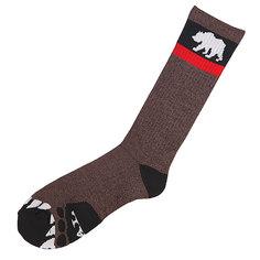 Носки высокие Nor Cal Bear Foot Sock Brown Heather