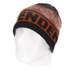 Шапка Independent Cb Stripe Skull Black/Orange/Red