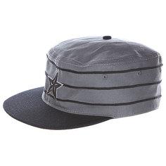 Кепка Nor Cal Stargell Baseball Pill Box Black/Grey