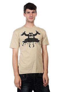 Футболка Toy Machine Rorschach Tan