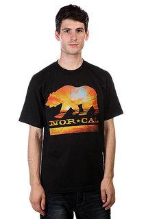 Футболка Nor Cal Sunset Bear Black