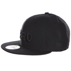 Бейсболка New Era Zero Army Black