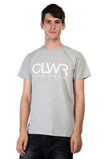 Футболка CLWR Tee Grey Melange