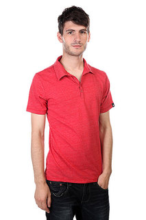 Поло Osiris Crosby Polo Shirt Red