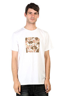 Футболка Huf Duck Camo Box Logo Tee White
