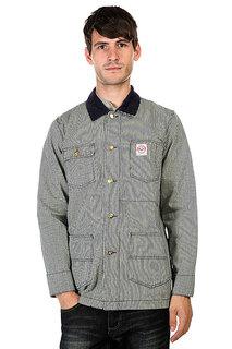 Куртка Huf Rail Coat Navy Fine Stripe