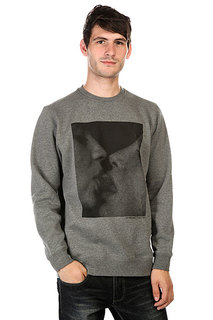 Толстовка Huf Strawberry Crew Gunmetal Heather