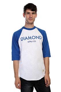 Лонгслив Diamond Classic Raglan White/Royal