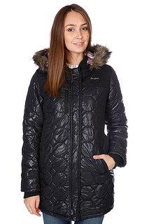 Куртка зимняя женская Zoo York Adirondack Quilted Coat Blk