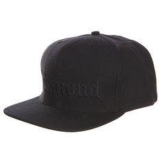 Бейсболка с прямым козырьком Diamond 4 Life Black