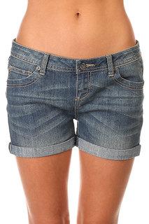 Шорты джинсовые женские Zoo York Walkabout Shorts Stacey Med Wash