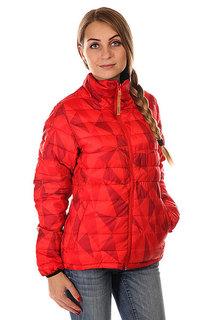 Пуховик женский Colour Wear Feather Jacket Red Ceramic Clwr