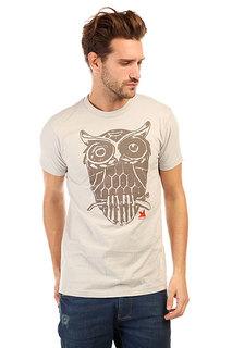 Футболка Dekline Owl Silver