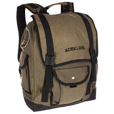Рюкзак туристический Dekline Rucksack Backpack Green