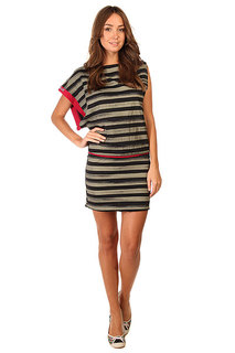 Платье женское Zoo York Side Swipe Dress Black