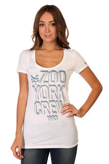 Футболка женская Zoo York Wrecking Crew White