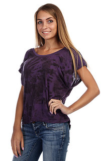 Топ женский  Insight Woodstock Tee Deep Violet