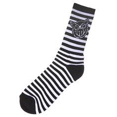 Носки средние Pig Srtipe Black/White