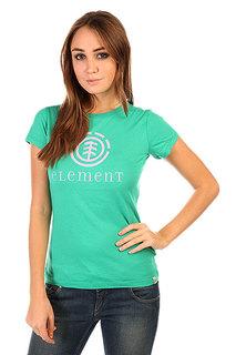 Футболка женская Element Logo Sscn Shaking Green