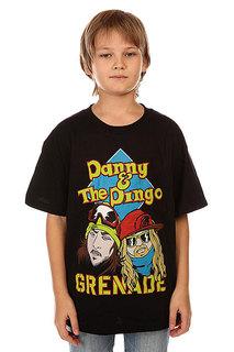 Футболка детская Grenade Danny & Dingo Black