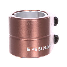 Зажимы Phoenix Smooth Double Bolt Clamp Bronze