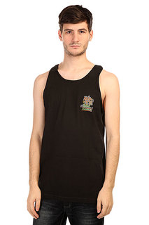 Майка Creature Last Resort Tank Black