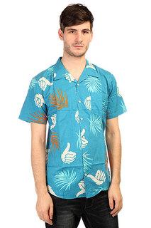 Рубашка Bro Style Tropic Print Shirt Blue