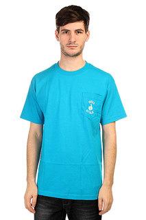 Футболка Bro Style Pocket Style Neon Blue