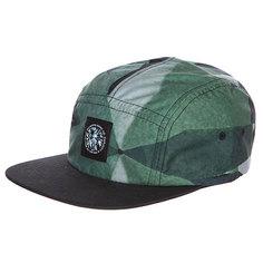 Бейсболка пятипанелька Diamond Simplicity Camper Green