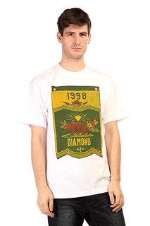 Футболка Diamond Banner X Grizzly Tee White