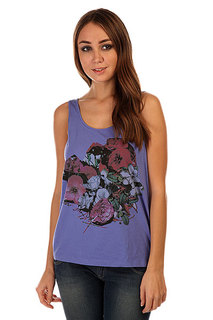 Майка женская Insight Floral Montage Tanks Blue Moon