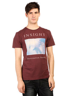 Футболка Insight Destination Tee Merlot