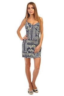 Платье женское Insight Bandana Dress Indigo Paisley