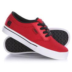 Кеды кроссовки низкие детские Etnies Jameson 2 Red/White/Black