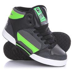 Кеды кроссовки высокие детские Etnies Uptown 2.0 Black/Green/White