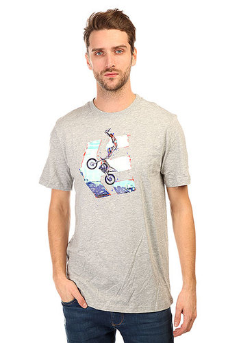 Футболка Etnies Gunz Blazin Tee Grey/Heather