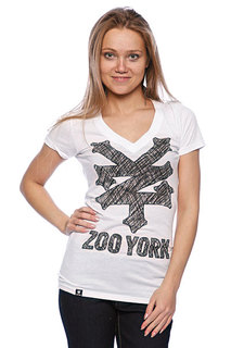Футболка женская Zoo York Sketchpad Tee White